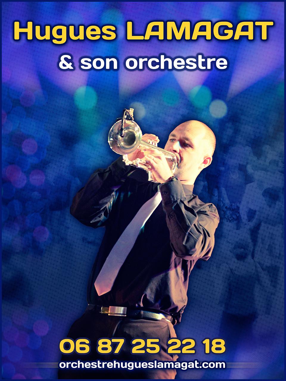 orchestre bal musette Hugues Lamagat